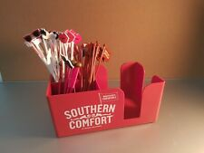 Southern Comfort (SOCO) bar top caddy plus 50 x Assorted Cocktal Stirrers New