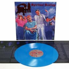 DEATH - Spiritual Healing LP - BLUE Colored Vinyl 600 - NEW COPY - Death Metal