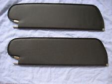 1964-65 chevelle SS skylark GS coupe  single pin sun visors black tier
