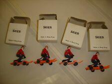 MARX Toy Lot 4 pcs SKIER #HKF-4741 NIB