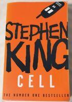 BOOK - Cell By Stephen King Paperback Hodder 2007 Horror Fiction