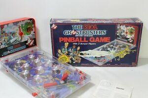 Real Ghostbusters - Electronic Spielzeug Tisch Flipper Pinball Game 1986 mit OVP