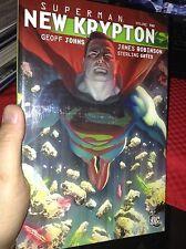 Superman New Krypton Vol 2 Geoff Johna Hc first print