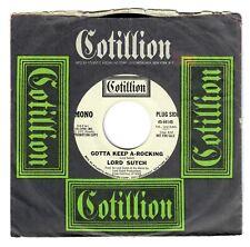 Lord Sutch 1972 Cotillion Promo 45rpm Gotta Keep-A-Rocking Mono/Stereo Versions
