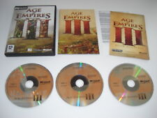 AGE OF EMPIRES III Pc Cd Rom AOE 3 - RTS - FAST DISPATCH