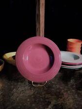 "RIM PASTA BOWL heather purple FIESTA WARE 12"" LARGE  NEW"