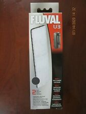 FLUVAL U3 UNDERWATER FILTER POLY/CARBON A491 2PK.