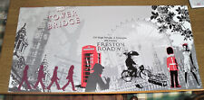 POSTER ARTISTICO EDITIONS BRAUN 2009 cm 50X100 FANKAS - LONDON AT Made in FRANCE