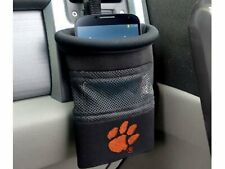Brand New NCAA Clemson Tigers  Embroidered Black Car Caddy Organizer