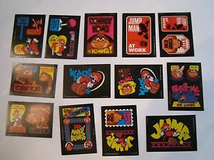1982 DONKEY KONG TRADING CARDS (26) IN VERY GOOD CONDITION - BN-7