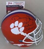 Danny Ford signed Clemson Tigers mini helmet autographed W/ Inscription JSA