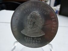 1893 Bethany College Aluminum Medal