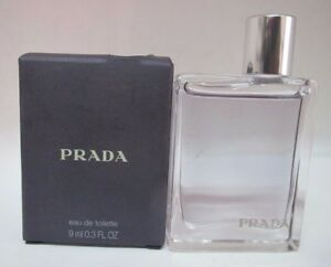Prada Amber Pour Homme  by Prada 9 ml Eau de Toilette Miniature for Men