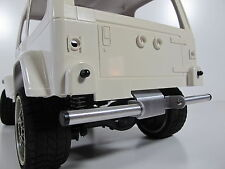 Rear Lower Bumper Bar Guard for Tamiya RC 1/10 CC01 Unimog Bronco Pajero Jeep