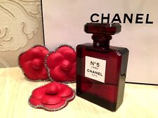 NEW RARE FACTICE STORE DISPLAY CHANEL No 5 L'EAU RED EDITION (NO PERFUME) 100 ml