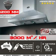 1200mm X 600mm Commercial Canopy Alfresco Indoor Outdoor Bbq Rangehood 1.2m