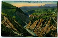 CPA 38 Isère Ligne de la Mure Le Viaduc de la Rivoire Le Drac et Mont-Aiguille
