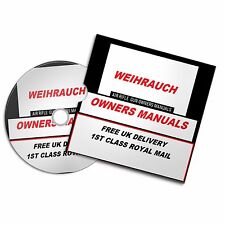 WEIHRAUCH AIRGUN AIR RIFLE GUN OWNERS MANUAL USER  MANUALS BOOKS Disc  #Airrifle