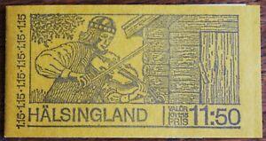 Sweden – 1980 Halsingland Booklet of 10 – UM (MNH) (R8)