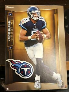 """Marcus Mariota Fathead Tradeables 5"""" x 7"""" Tennessee Titans Decal"""