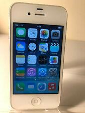 Apple iPhone 4 - 8GB - White (Unlocked) Smartphone Mobile