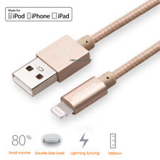 USB Charger Cable Charging Cable Cord (3.3FT) For iPhone, iPad, iPod - 4 Colors