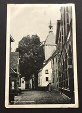 Postcard Amersfoort Latijntje Muurhuizen Utrecht 1943 Netherlands 1760