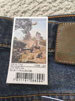 NUDIE JEANS GRIM TIM JON REPLICA LENGHT IS 34 ON ALL BRAND WITH TAGS