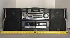 Vintage Aiwa CADW420 AM/FM / Cassette / CD Boombox - Working!