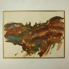 Abstract Painting by Northwest Artist Eugene Pizzuto Henry Art Gallery Label