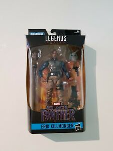Marvel Legends Erik killmonger Black Panther Wave 2 M'BAKU BAF New