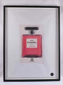 """CHANEL No.5 Bottle, Limited Edition 25"""" x 33"""""""