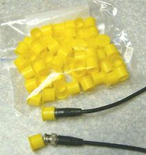 Plastic Dust Caps for BNC Male Coaxial Connectors (50 caps per bag)