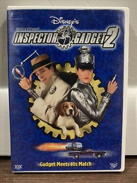 Inspector Gadget 2 DVD 2003 Disneys   French Stewart