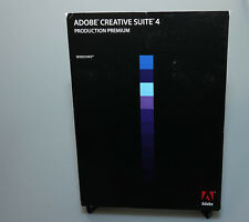Adobe Production Premium CS4 for Windows verified activation capable full ver
