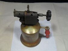 Vintage/Antique ~ Turner Brass Works Solder Torch / Gas Blow Torch ~ Used