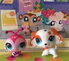Littlest Pet Shop Totally Talented #2688#2689 Cocker Spaniel Pink Ladybug