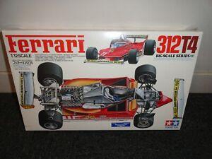 Jody Scheckter - Tamiya 1:12 Ferrari 312T4 Plastic Model Kit - New Sealed Box