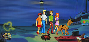 Scooby Doo and the Alien Invaders Original Pan Cel/Drawing Signed Bob Singer-4