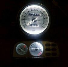 WHITE Yamaha VMX1200 v-max vmax led dash clock conversion kit lightenUPgrade