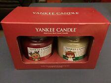 Yankee Candle Jingle Spice & Sweet Angel 14.5oz Gift Set Very RARE candles