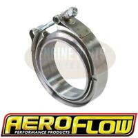 """Aeroflow 3"""" (76.2mm) V-Band Clamp Kit with Aluminium Weld Flanges AF92-3000D"""