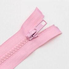 Lots 55-75cm Craft Bag Slider Teeth Zipper Separating Zips Down Open End Pull