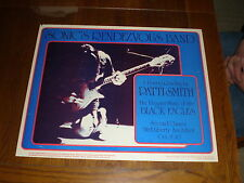 Sonic's Rendezvous Band With Patti Smith POSTER Ann Arbor