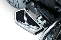 Kuryakyn Chrome Phantom Mini Floorboards Rear,  Yamaha Road Star Warrior Models