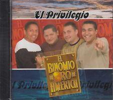 El Binomio De Oro De America El Privilegio  CD New Sealed