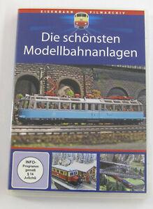 Eisenbahn Film DVD Die schönsten Modellbahnanlagen Modelleisenbahn