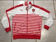 NWT PUMA Arsenal FC 2014/2015 T7 Anthem Jacket Men's Large