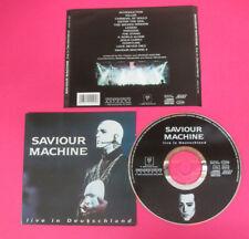 CD SAVIOUR MACHINE Live in Deutschland 1996 Germany MASSACRE no lp dvd  (CS20)