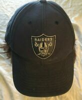 VTG Oakland Raiders NFL Football  Pro Line 90s wool blend  one size distressed